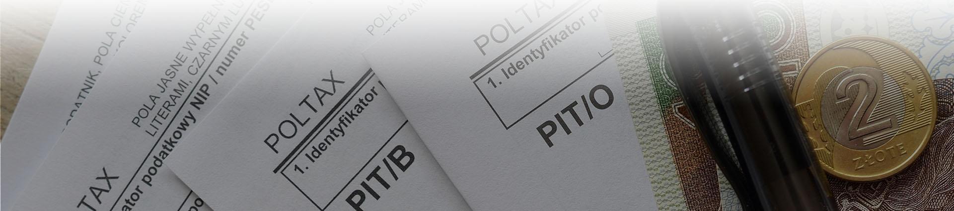 rozliczenie PIT-ów, moneta, banknot